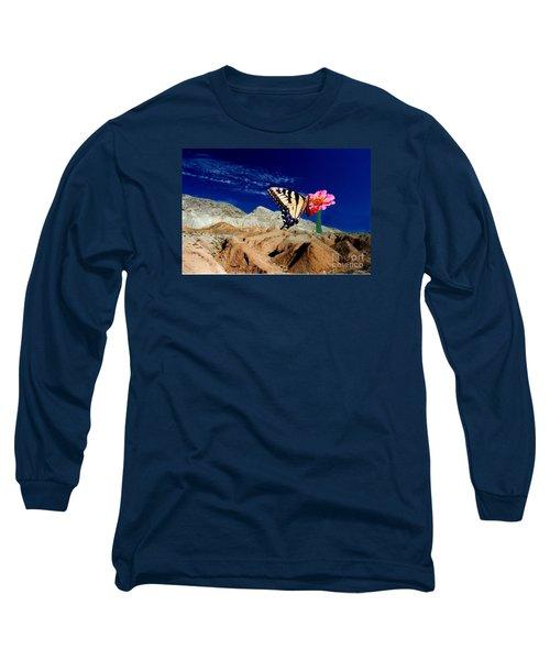 Keep The Faith Long Sleeve T-Shirt by Byron Varvarigos