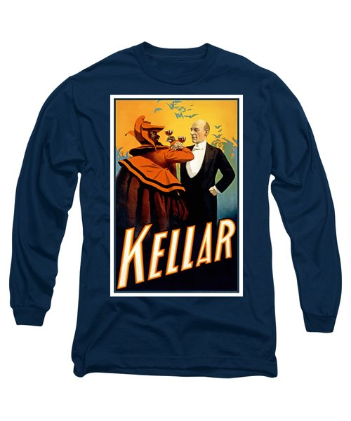 Kellar Toasts The Devil Long Sleeve T-Shirt