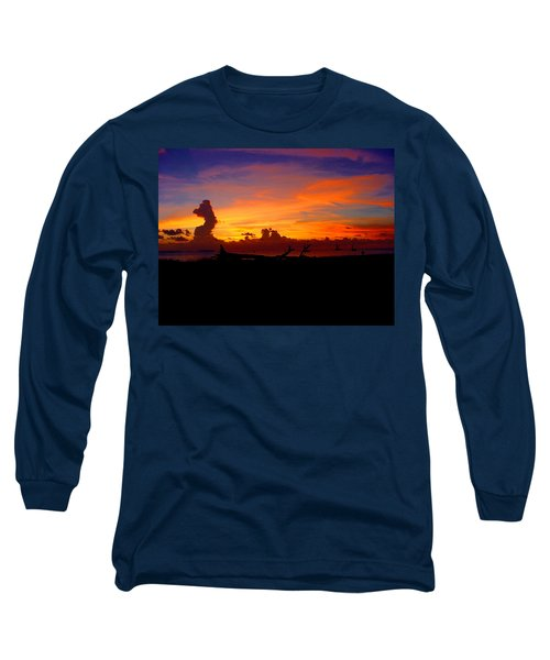 Key West Sun Set Long Sleeve T-Shirt