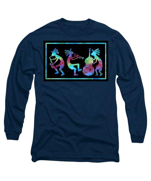 Kokopelli Jazz Trio Long Sleeve T-Shirt
