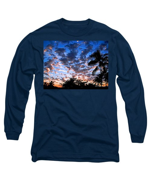 Kona Sunset Long Sleeve T-Shirt by David Lawson