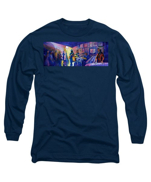 Kris Lager Band At Sanchos Broken Arrow Long Sleeve T-Shirt