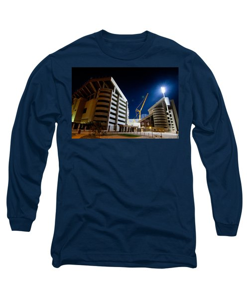 Kyle Field Construction Long Sleeve T-Shirt by Linda Unger