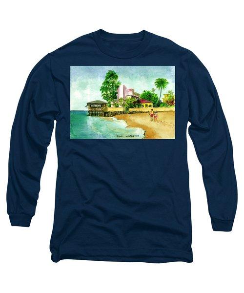 La Playa Hotel Isla Verde Puerto Rico Long Sleeve T-Shirt