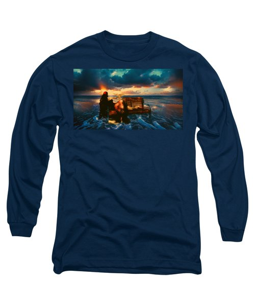 Lady Of The Ocean Long Sleeve T-Shirt