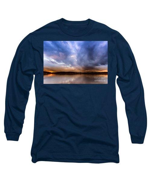 Lake Lanier Sunset Long Sleeve T-Shirt