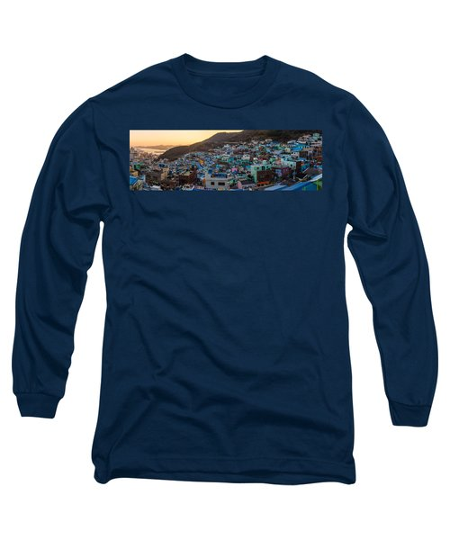 Late Afternoon In Gamcheon Long Sleeve T-Shirt