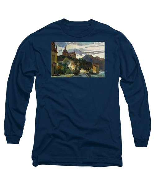 Late Evening In The Prcanj Long Sleeve T-Shirt