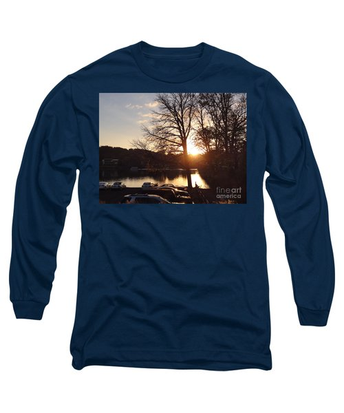 Late Fall At The Station Long Sleeve T-Shirt