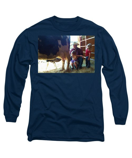 Learning How To Get Milk Long Sleeve T-Shirt