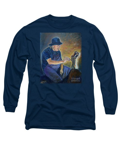 Figurative Painting Long Sleeve T-Shirt