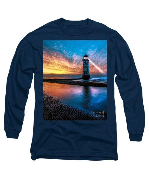 Light House Sunset Long Sleeve T-Shirt