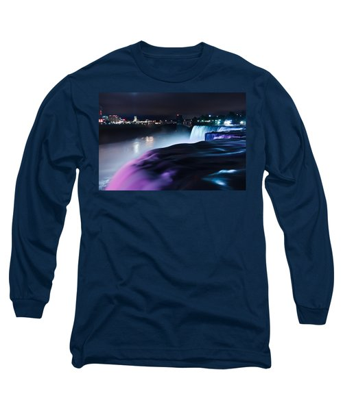Long Sleeve T-Shirt featuring the photograph Light Show by Mihai Andritoiu