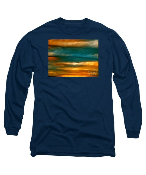 Light Upon Darkness Long Sleeve T-Shirt by Joy Hardee