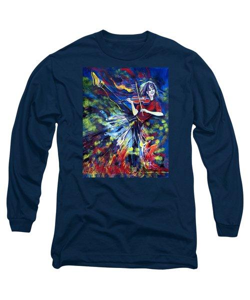 Lindsey Stirling. Dancing Violinist Long Sleeve T-Shirt