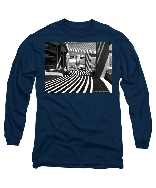 Long Sleeve T-Shirt featuring the photograph Lines And Curves by Lucinda Walter