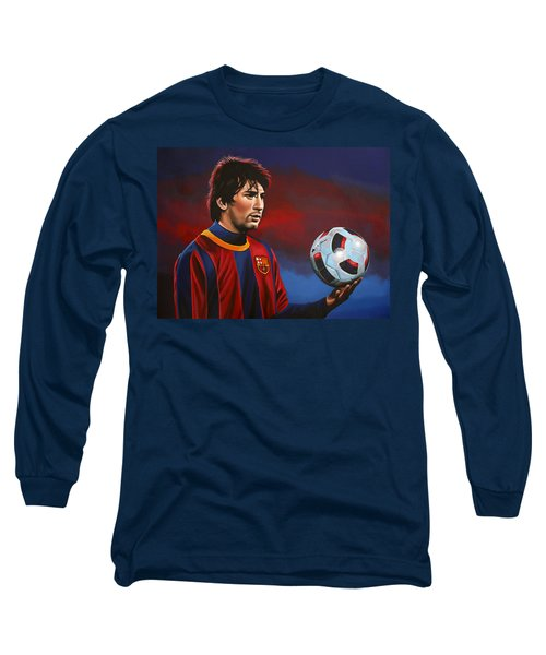 Lionel Messi 2 Long Sleeve T-Shirt