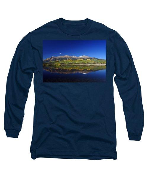 Liquid Mirror Long Sleeve T-Shirt by Jeremy Rhoades