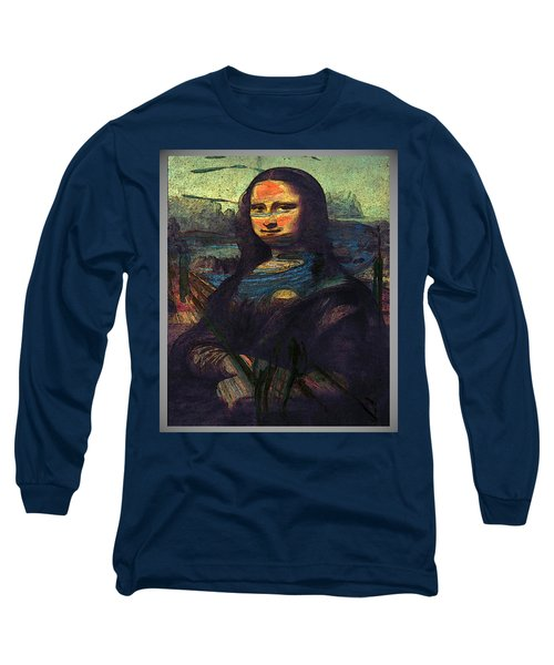 Lisa Munch Scream  Long Sleeve T-Shirt