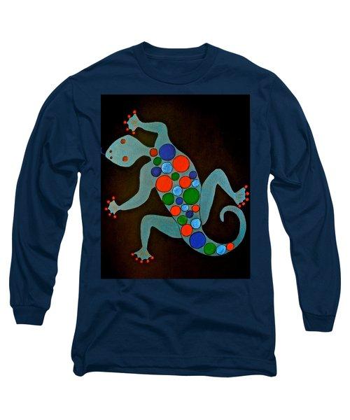 Lizard Long Sleeve T-Shirt by Stephanie Moore