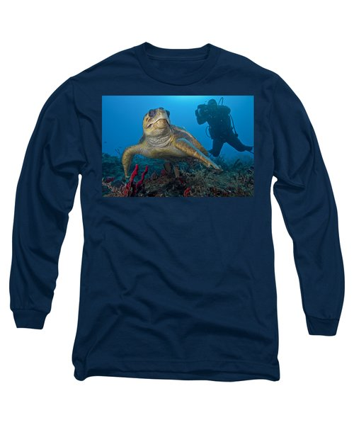 Loggerhead Posing Long Sleeve T-Shirt