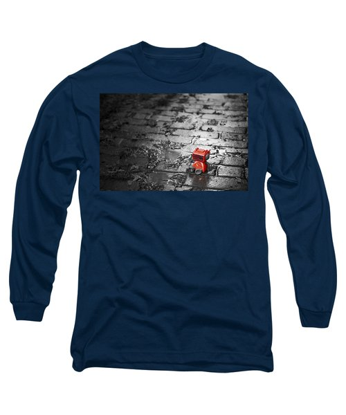 Lonely Little Robot Long Sleeve T-Shirt