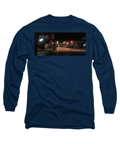 Looking East From Wabash Long Sleeve T-Shirt