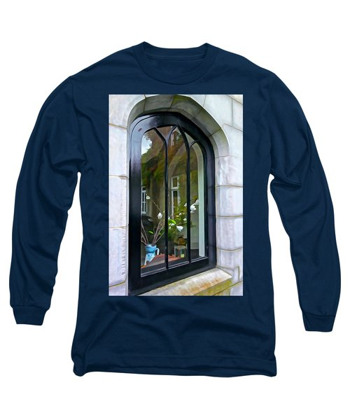 Long Sleeve T-Shirt featuring the photograph Looking In by Charlie and Norma Brock