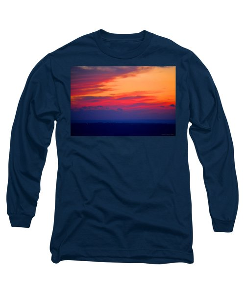 Lookout Mountain Sunset Long Sleeve T-Shirt