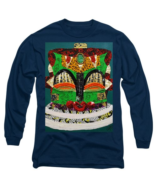 Lotus Warrior Long Sleeve T-Shirt by Apanaki Temitayo M