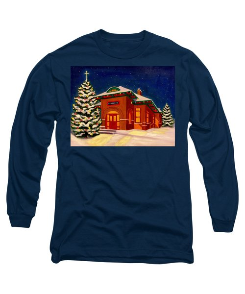 Loveland Depot At Christmas Long Sleeve T-Shirt