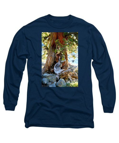 Lovely Tree Maiden Long Sleeve T-Shirt