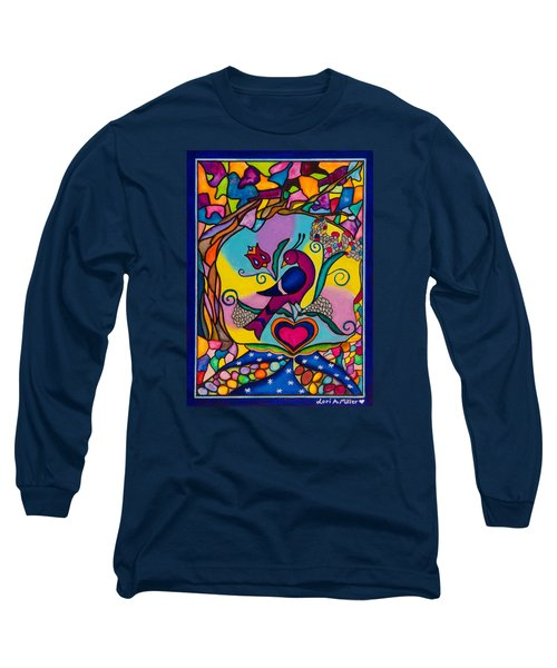 Loving The World Long Sleeve T-Shirt by Lori Miller