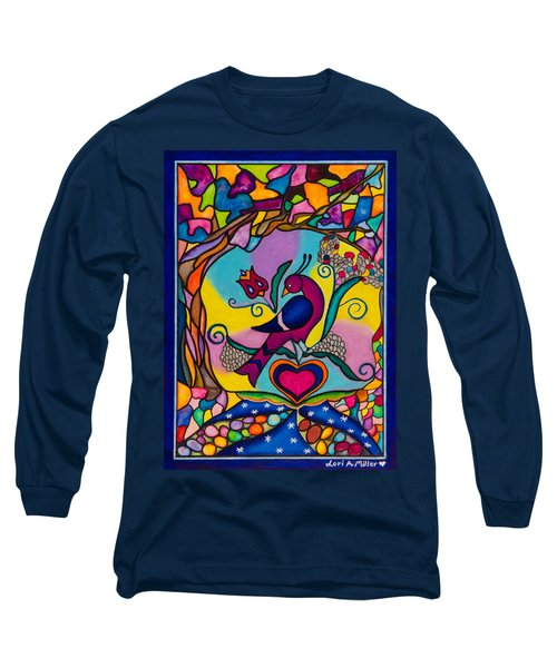 Loving The World Long Sleeve T-Shirt