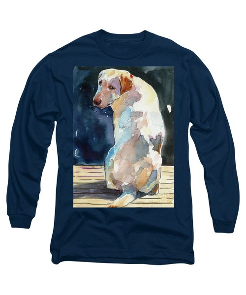 Lucy Moon Long Sleeve T-Shirt by Molly Poole