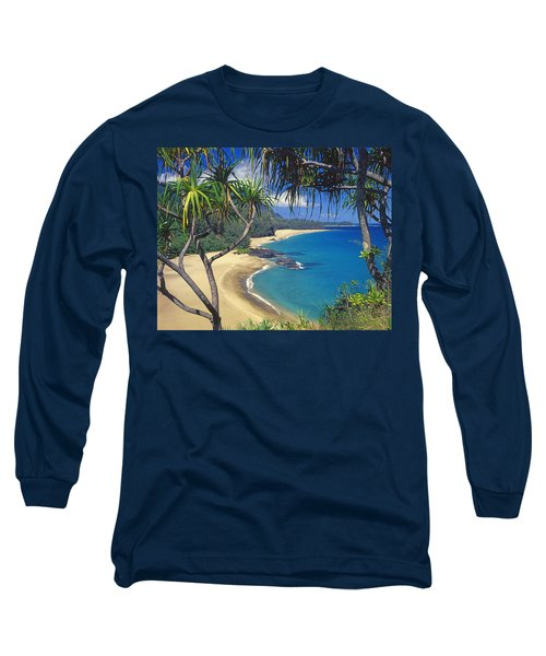 Lumahai Beach Long Sleeve T-Shirt