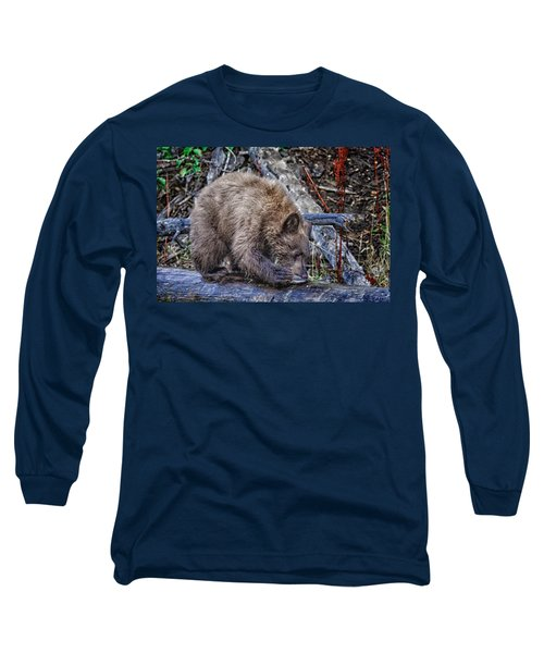 Long Sleeve T-Shirt featuring the photograph Lunch Break by Jim Thompson
