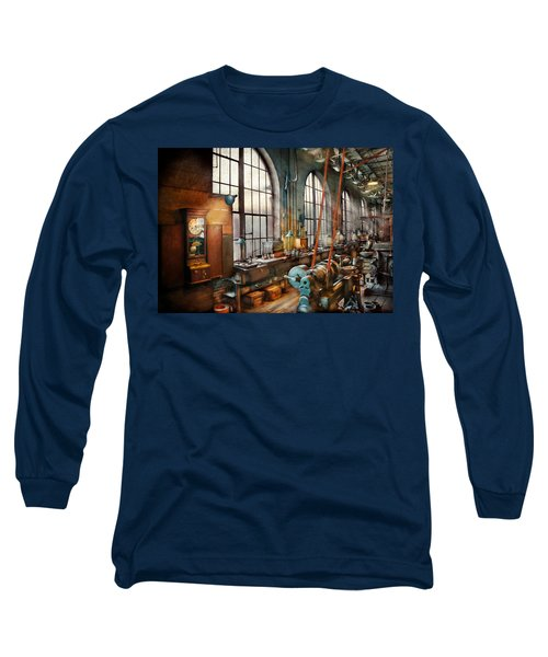 Machinist - Back In The Days Of Yesterday Long Sleeve T-Shirt