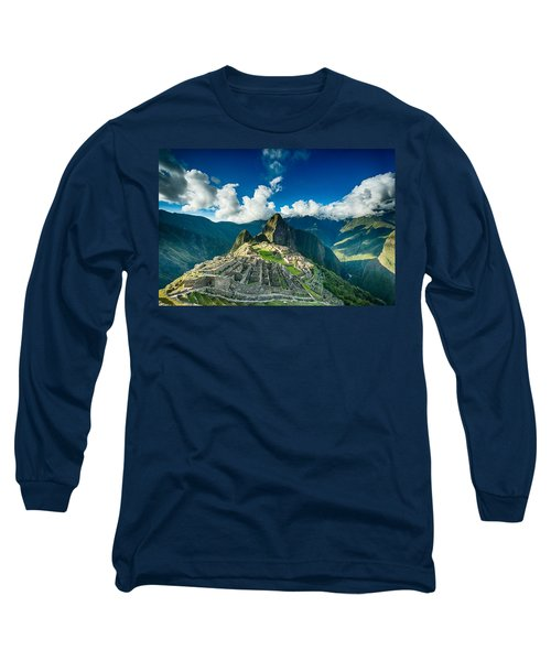 Machu Picchu Long Sleeve T-Shirt by Ulrich Schade