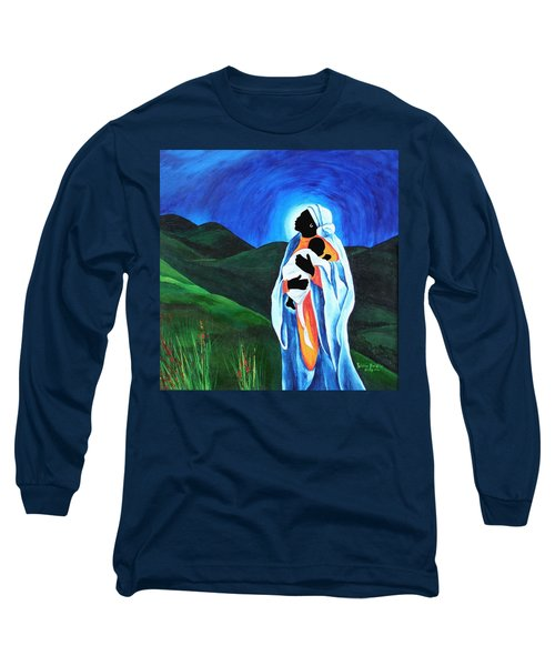 Madonna And Child  Hope For The World Long Sleeve T-Shirt