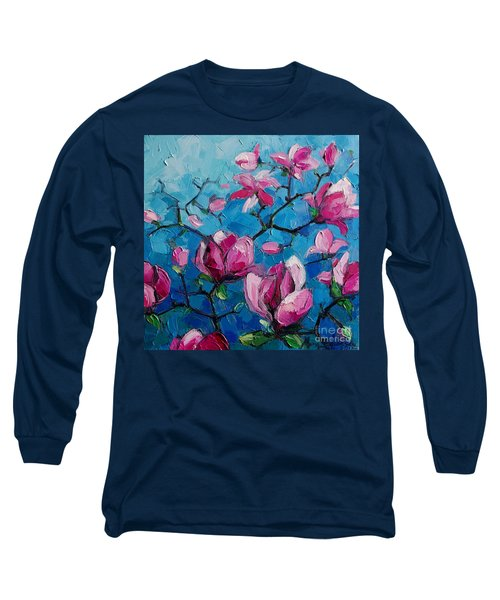 Magnolias For Ever Long Sleeve T-Shirt