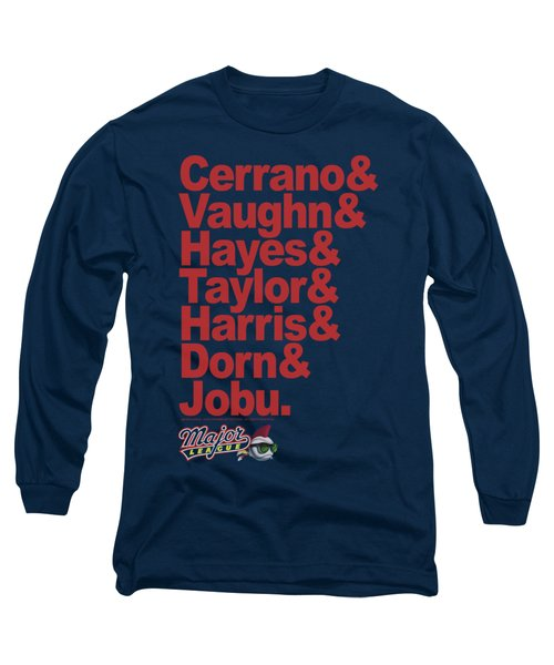 Major League - Team Roster Long Sleeve T-Shirt