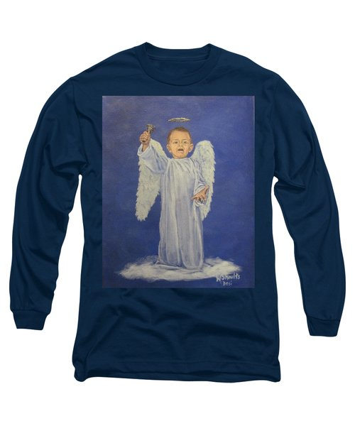 Make A Joyful Noise Long Sleeve T-Shirt by Wendy Shoults