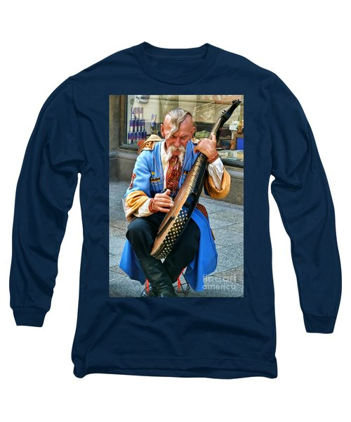 Long Sleeve T-Shirt featuring the photograph Making A Living by Mariola Bitner
