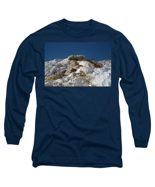Mammoth Hotsprings 4 Long Sleeve T-Shirt