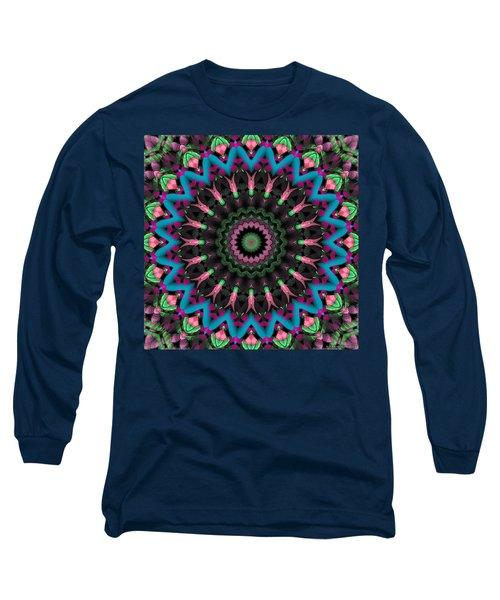 Long Sleeve T-Shirt featuring the digital art Mandala 35 by Terry Reynoldson