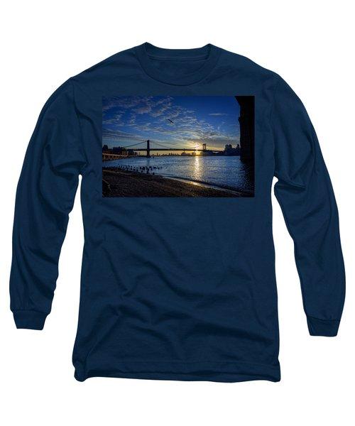 Manhattan Sunset Long Sleeve T-Shirt