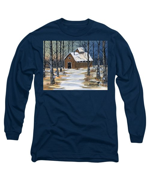 Maple Syrup Shack Long Sleeve T-Shirt