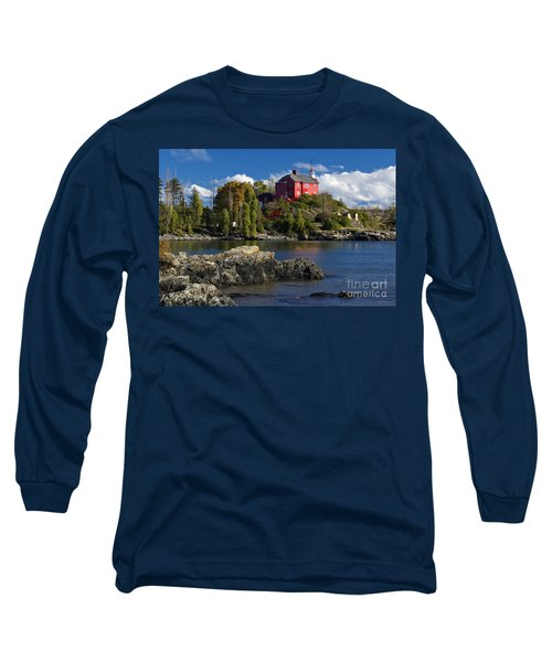 Marquette Harbor Light - D003224 Long Sleeve T-Shirt