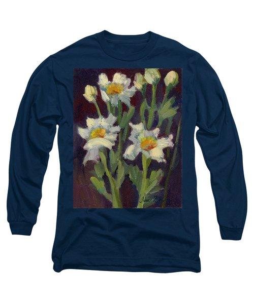 Matilija Poppies Long Sleeve T-Shirt